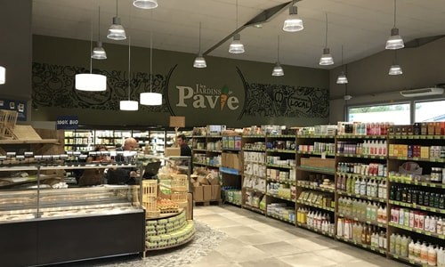 Photo du magasin Les Jardins de Pavie
